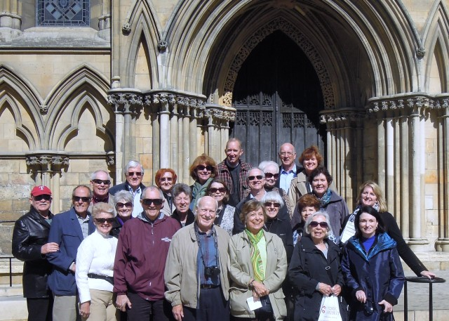 Group Photo at Canterbury Cathedral